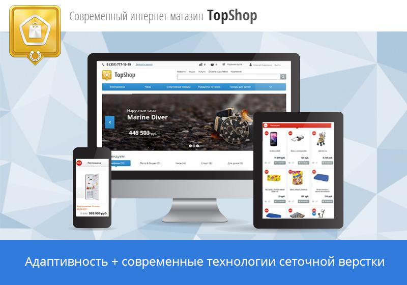 e3306a6af71d TopShop - готовый интернет-магазин по теме  Бытовая техника и электроника